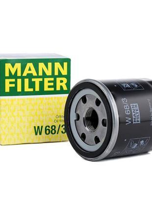 Масляный фильтр MANN W 68/3