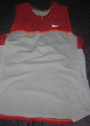 Майка Nike running, Dri-Fit, р. М (44-46), б/у