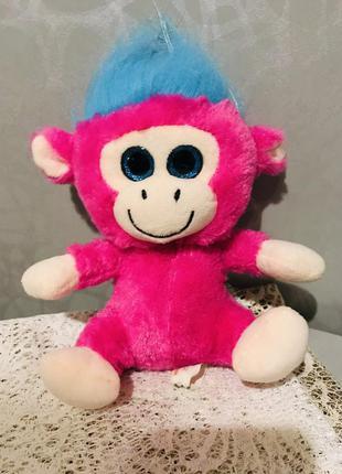 Мягкая игрушка обезьянка , новая