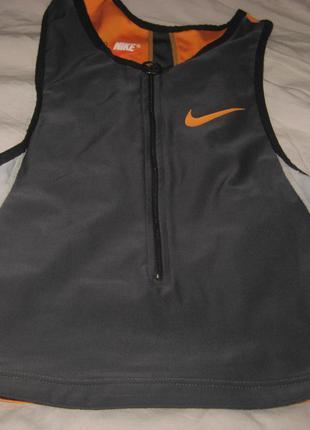 Майка спортивная Nike, женская, р. М (44-46), б/у