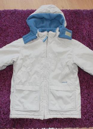 Куртка парка осенняя зимняя осень евро зима фирменная 3 4 года...