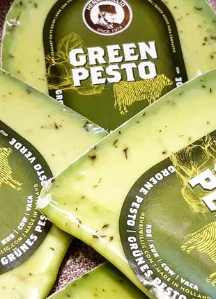 Сыр гауда зелёное песто
