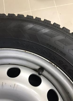Диски колесные стальные с Резиной зимней Amtel