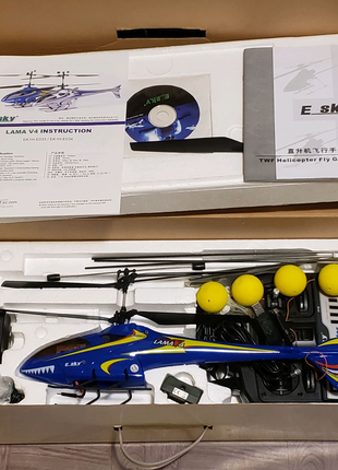 Радиоуправляемый вертолет Esky Lama V4