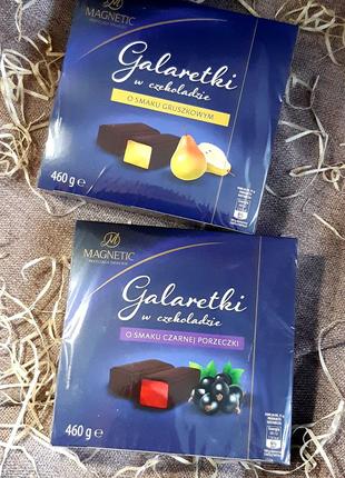 Галаретки в шоколаде
