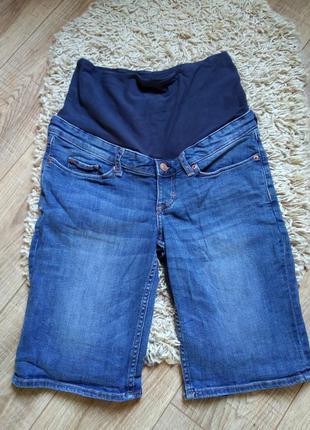 Фирменные шорты для беременных mama от h&m