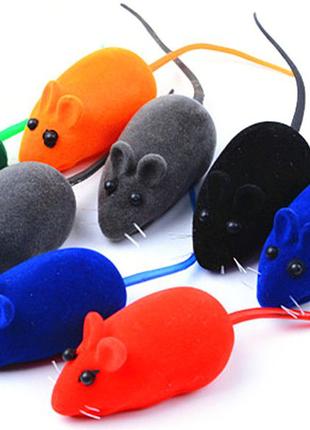 Мышка пищалка для котов