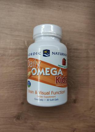Nordic Naturals, Омега 3, рыбий жир для детей, 50 мг. США