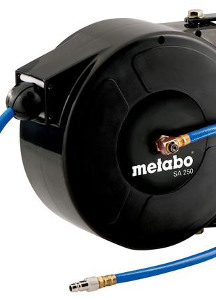 Самонаматывающая катушка Metabo с пневматическим шлангом SA 250