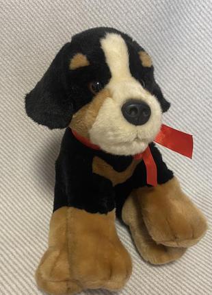 Мягкая игрушка реалистичная собака keel toys