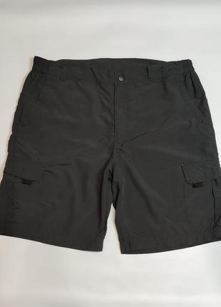 Camargue серые тонкие шорты с накладными карманами