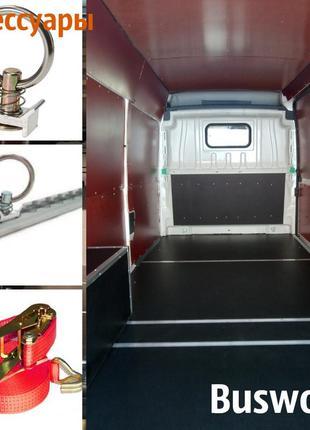 Фанерная обшивка для грузового отсека фургона