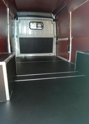 Обшивка грузового отсека фургонов
