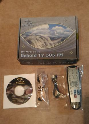 Пульт для тюнера Behold Tv 505 FM + диск+ коплектующие