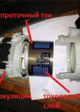 ТЕН для посудомоечной машины Бош Сименс Bosch Siemens