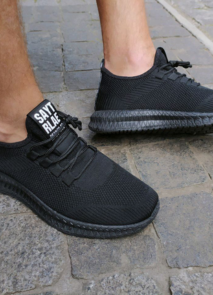 Кроссовки, Мужские кроссовки черные