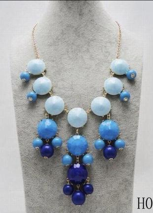 Колье подвеска ожерелье массивное большое длинное винтажный стиль
