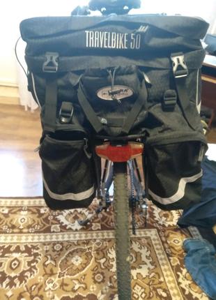 Велобаул, велосумка terra incognita travelbike