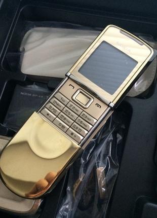 Nokia 8800 Sirocco GOLD Новый Оригинал Full set 2007 Refurbished