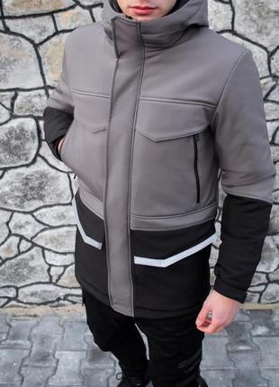 Нереально крутая мужская зимняя куртка