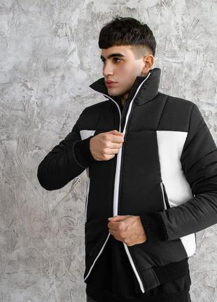Крутая мужская зимняя куртка