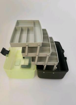 Ящик для снастей на 3 полиці Aquatech