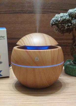 Увлажнитель воздуха ультразвуковой аромадиффузор с LED подсветкой