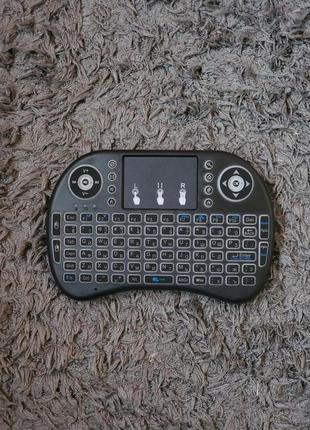Аэромышь (Air Mouse) Mini i8 Беспроводная Клавиатура