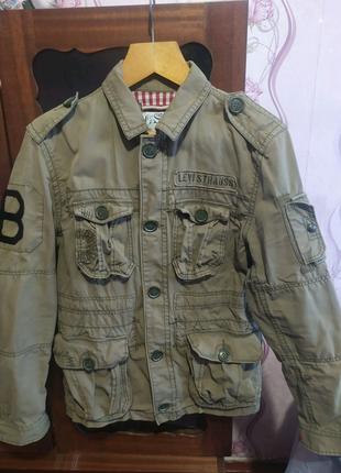 Куртка levis straus милитари