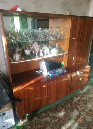 Сервант + книжный шкаф