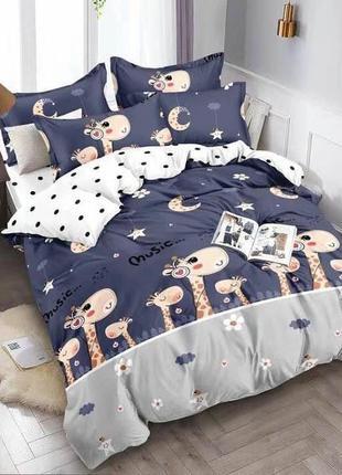 Детский комплект постельного белья  . фланель