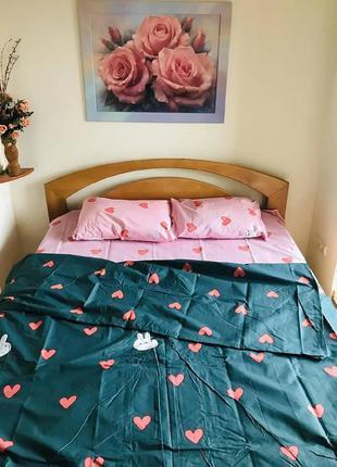 Комплект постельного белья зайка
