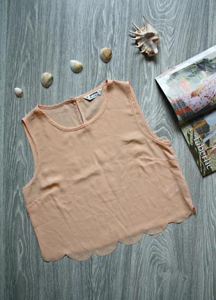 Кроп топ укороченная блуза р. 46