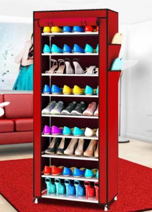 Стелаж для хранения обуви Shoe Cabinet 160X60Х30 Полка для обуви