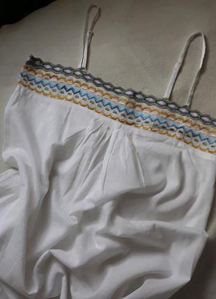 Новая туника платье сарафан майка Kbas размер L Франция