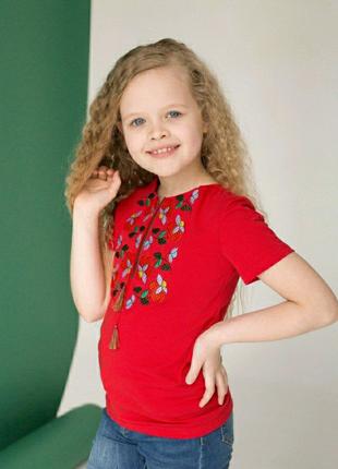 Вишиванка футболка дитяча