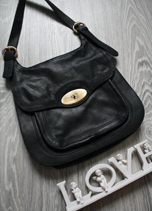Кожаная сумка  кросс боди английского бренда ri2k