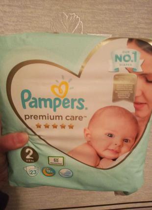 Підгузники Pampers Premium Care