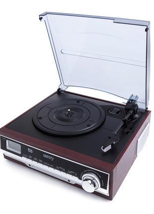 Проигрыватель виниловых дисков с радио Camry CR 1113