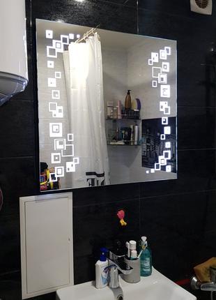 Зеркало с светодиодной подсветкой