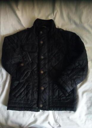 Осенняя стёганая куртка для мальчика