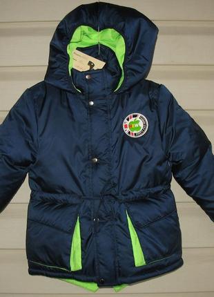 Зимняя курточка на мальчика 104/110