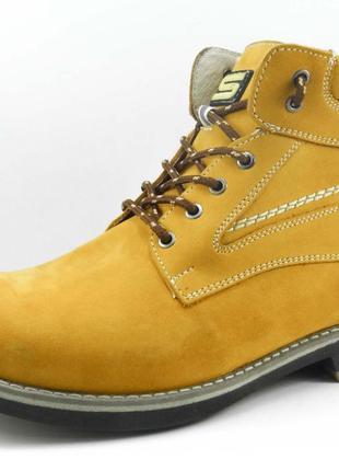Мужские зимние ботинки 42р натуральный мех РАСПРОДАЖА