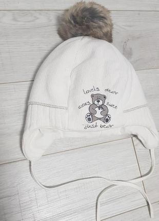 Тепла шапочка для малечі