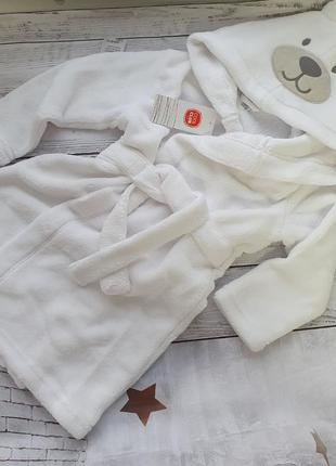 Плюшевий халат халат для дому плюш ведмедик