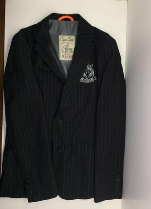 Винтажный клубный пиджак Zara Young