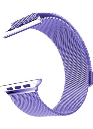 Ремешок металлический Apple Watch 42 44 мм Миланская петля Milane