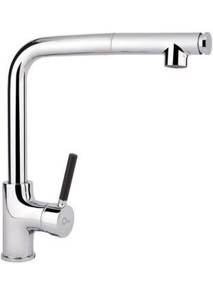 Смеситель для кухни с выдвижным изливом Q-tap Inspai CRM 007F