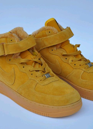 "Nike Air Force 1 ""Yellow"""