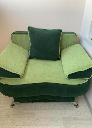 Кресло раскладное в идеальном состоянии